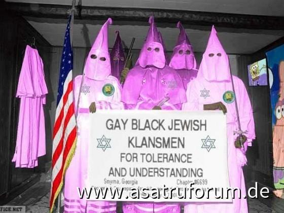 Gay Black Jewish Klansmen for Tolerance and Understanding