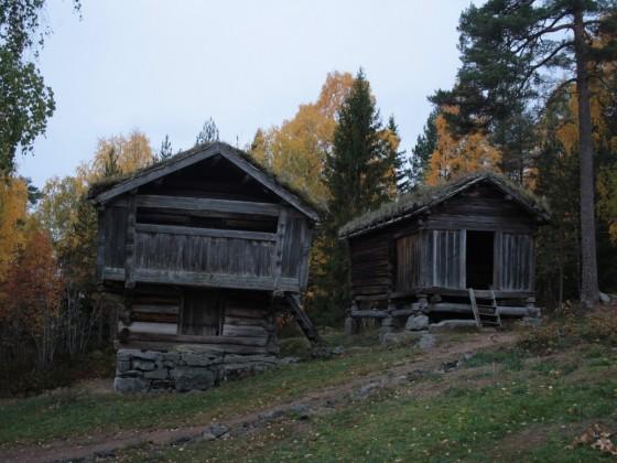 Freilichtmuseum, Norwegische Behausungen um das 18 Jahrhundert