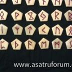 Fertiges Runenset Vorderseite