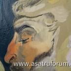 """Ein Ausschnitt von """"zwei satyre"""" (Rubens) an dem ich immer noch arbeite"""