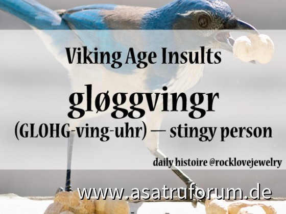 Beleidigen nach Wikingerart