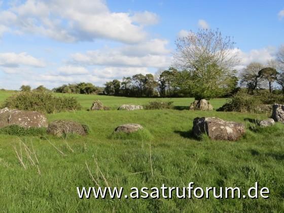 Steinkreis am Lough Gur