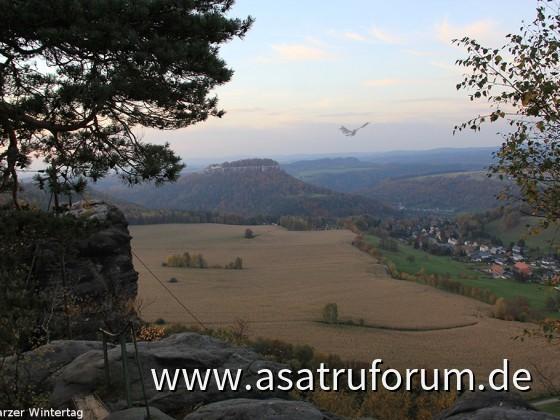 Drache über Königstein