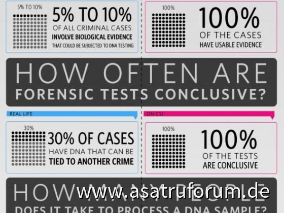 CSI-Infografik – Fakten vs. Fiktion