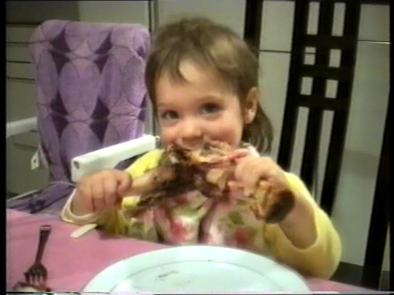 Und gerne viel gegessen habe ich auch schon immer, ganz der Heide :D