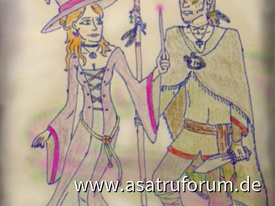 Die Hexe und der Harier
