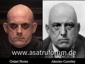 Onkel Fester vs Aleister Crowley