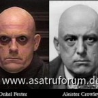 Onkel Fester vs Aleister Crowley