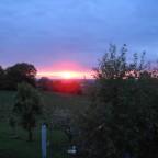 Sonnenuntergang über Norddeutschland
